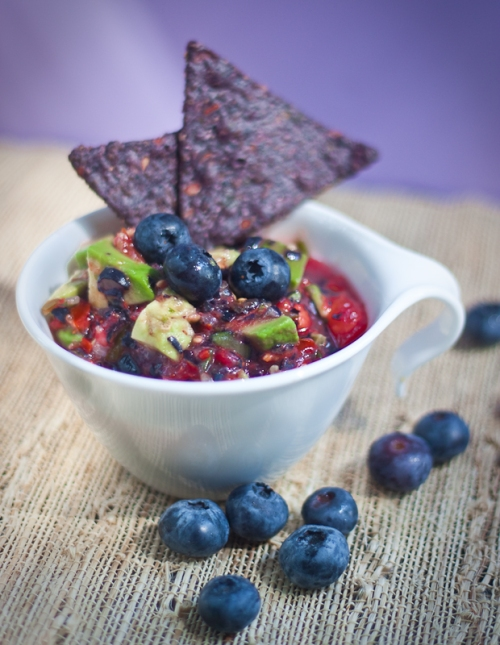 Blueberry Avocado Salsa by Allyson Kramer