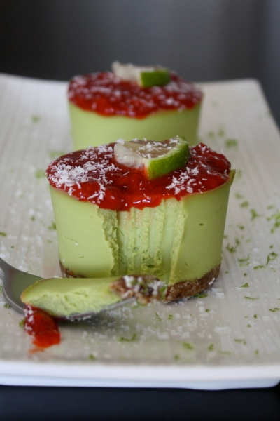 Avocado Lime Cheesecake by Heather Pace