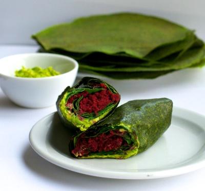 Glorious Green Wraps by Lisa Pitman