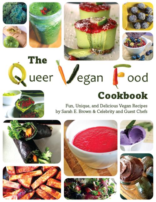 Sarah Brown-Queer Vegan Food-E Book Cover-r4-01