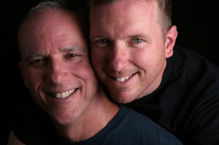 The gorgeous, kind, compassionate, charming and fabulous gay vegans!