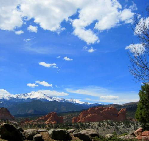 Garden of the Gods in Colorado Springs.