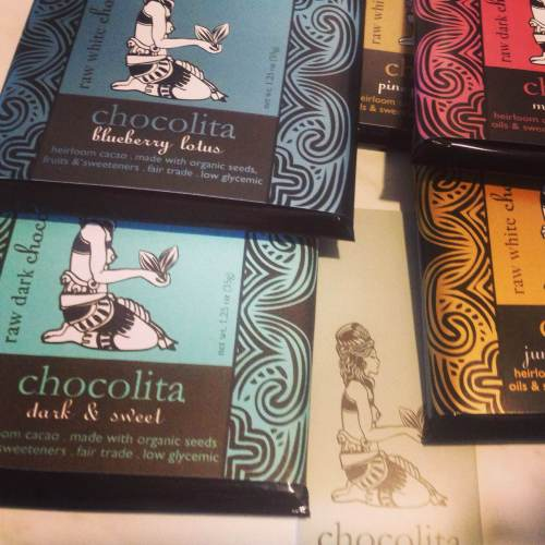 Chocolita raw vegan chocolate is fantastic.