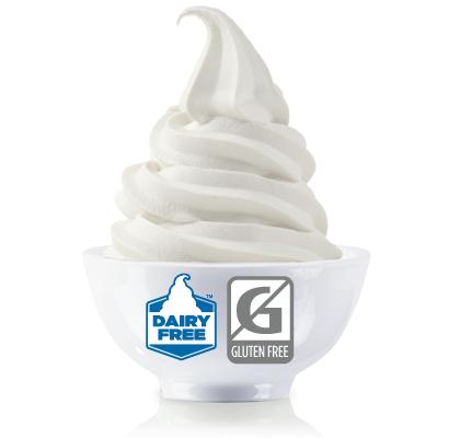 TCBY coconut milk vegan frozen yoghurt