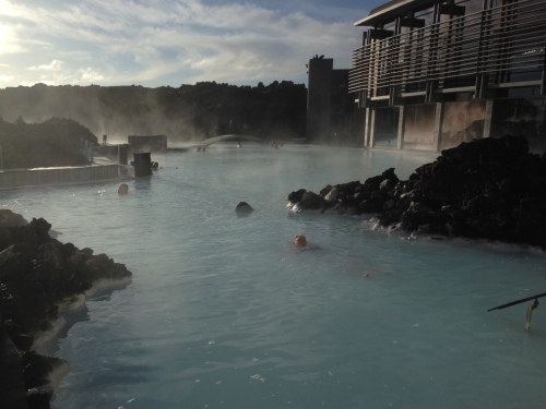 Blue Lagoon in Iceland featured on Queer Vegan Food