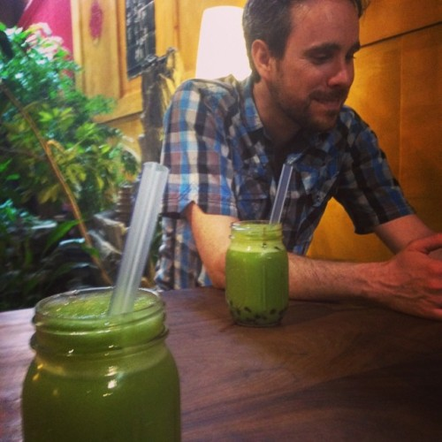 Matcha Latte With Asher Brown in Boulder, CO