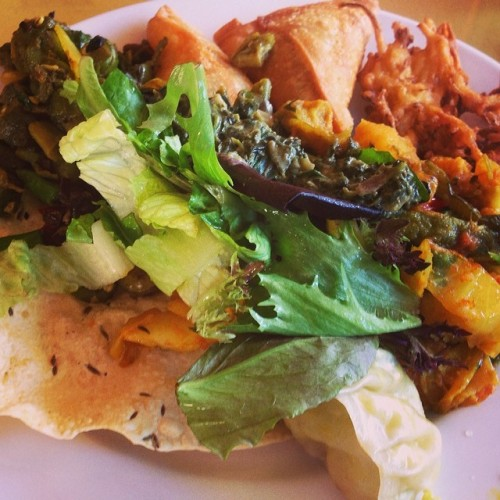 Nepal Cuisine Vegan Buffet in Boulder, CO featured on Queer Vegan Food