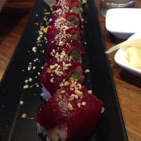 Vegan roll at Shizen