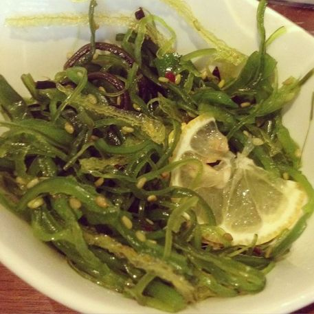 Seaweed Salad at Shizen in SF